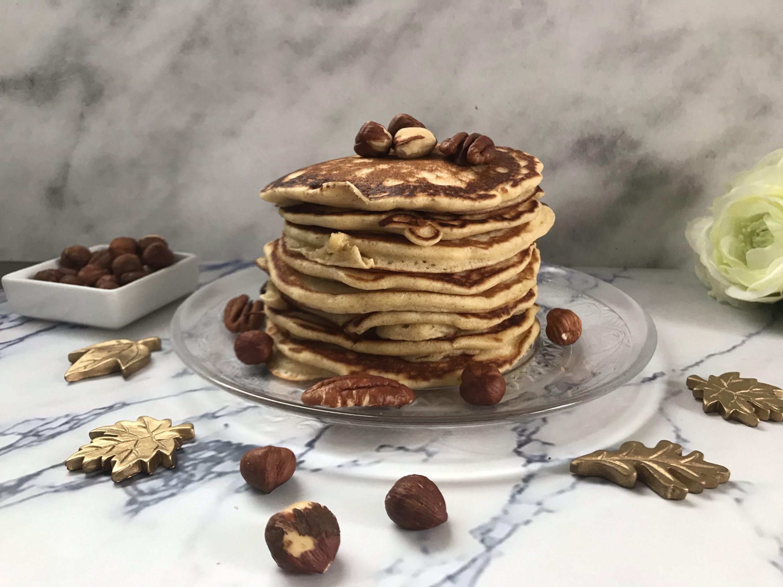 Pancakes au levain et à la farine complète